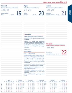 indywidualne kalendarium
